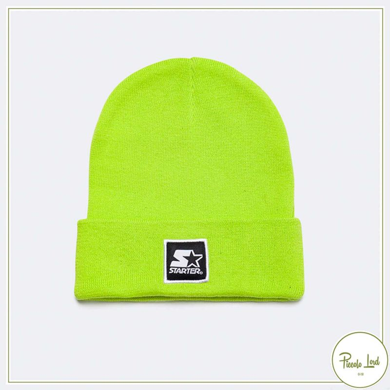 ST 1215-ve Cappellino Starter Verde Acido Abbigliamento Bambini Autunno Inverno 2021 per completare l'outfit