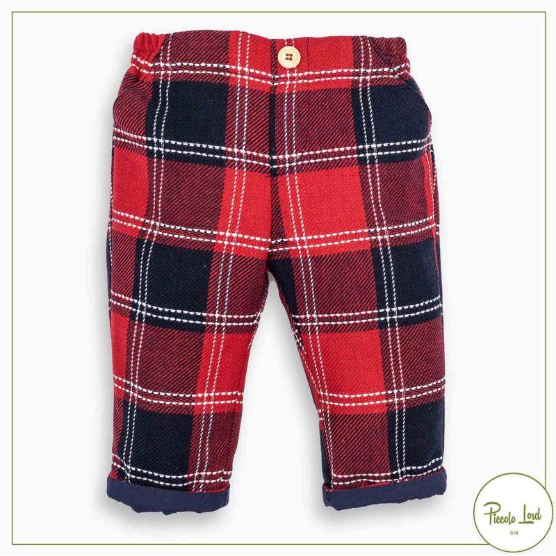 Pantaloni Fina Ejerique Tartan Abbigliamento Bambini Autunno Inverno 2021 O21B52