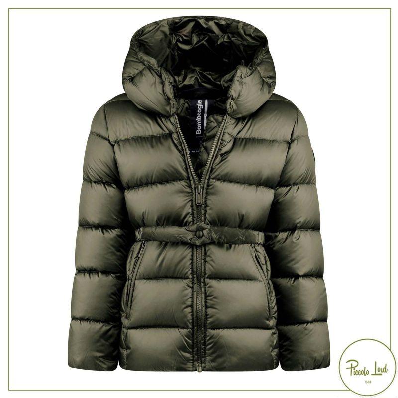 Giubbotto Bomboogie Oliva Abbigliamento Bambini Autunno Inverno 2021 GG7117TDLC