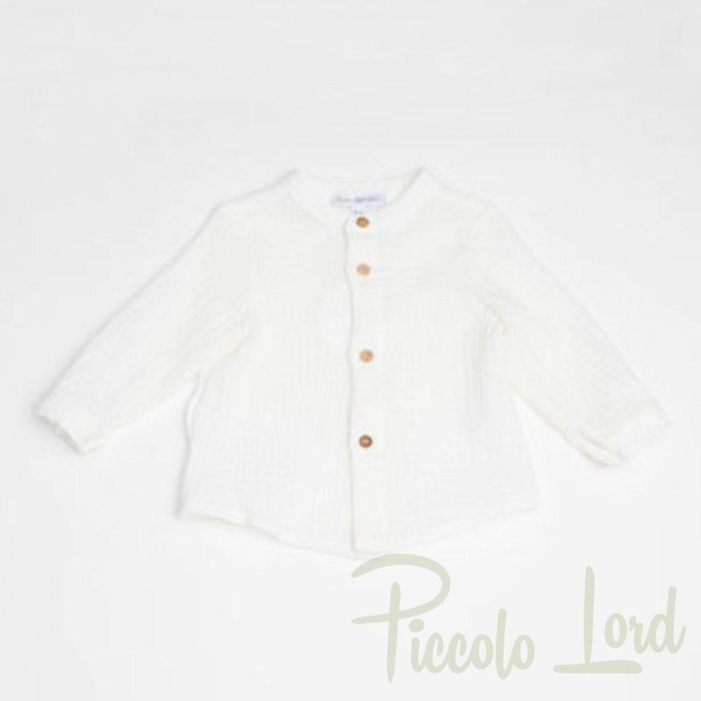 Camicia Fina Ejerique Abbigliamento Neonato Nuova Collezione O19B1829
