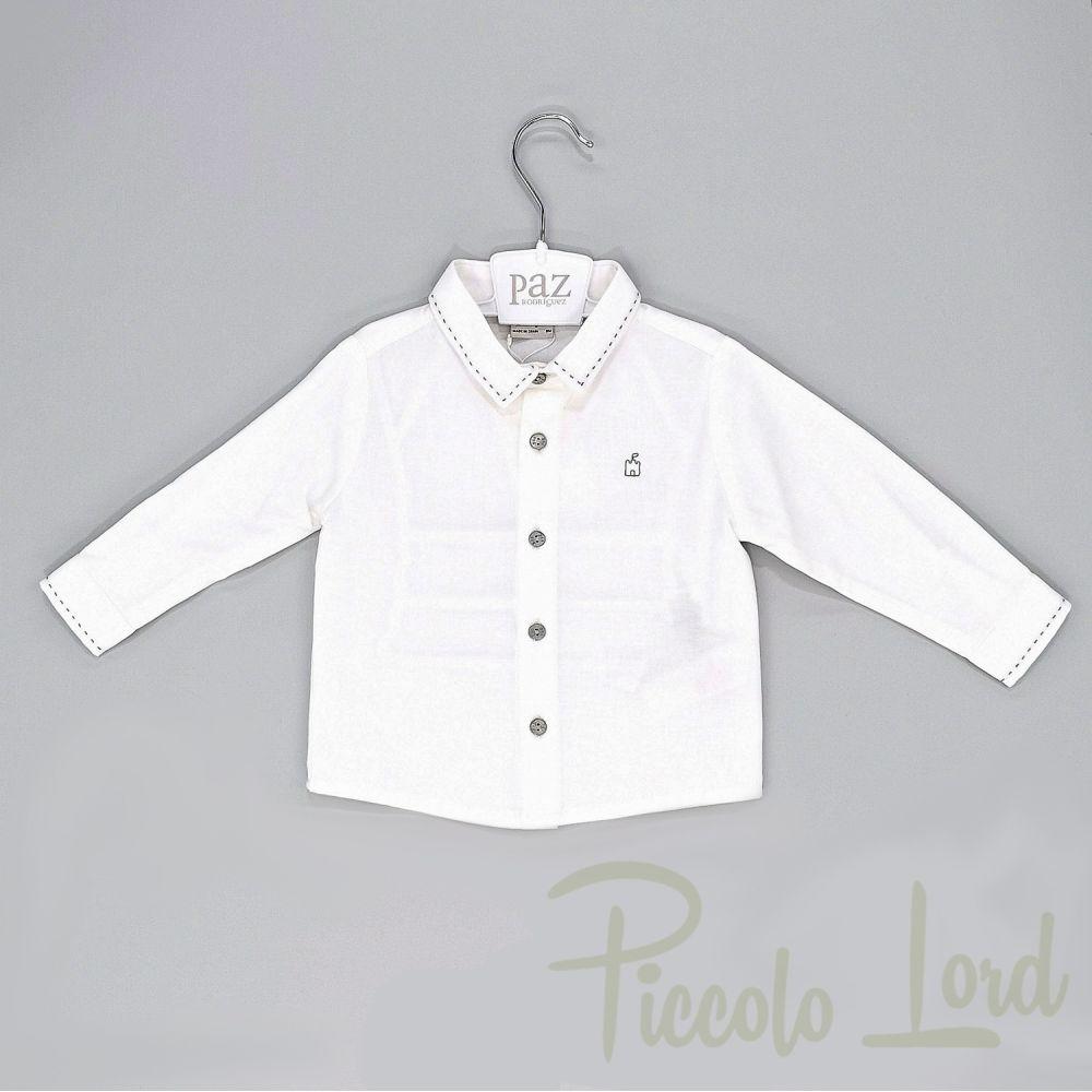 Camicia Paz Rodriguez Abbigliamento Neonato Nuova Collezione 006-15730cg