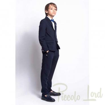 1235P0627 Pantalone Alessandrini Abbigliamento Primavera Estate 2020 Piccolo Lord