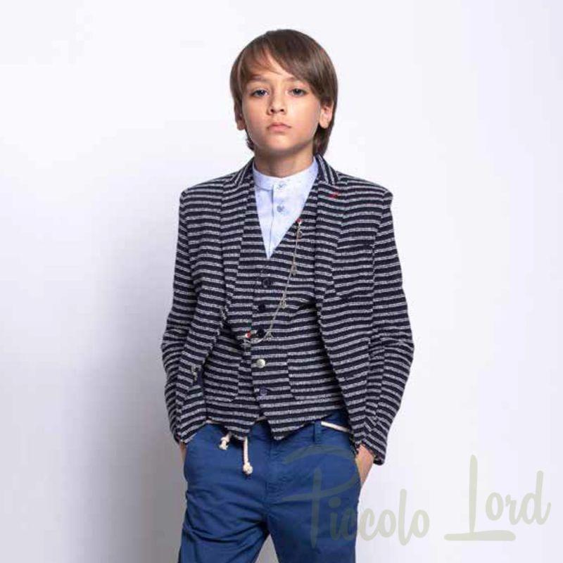 1235J0612 Giacca Alessandrini Abbigliamento Primavera Estate 2020 Piccolo Lord