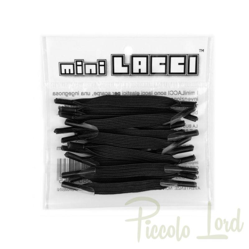 ML-01 Mini Lacci Nero Accessori per completare l'outfit