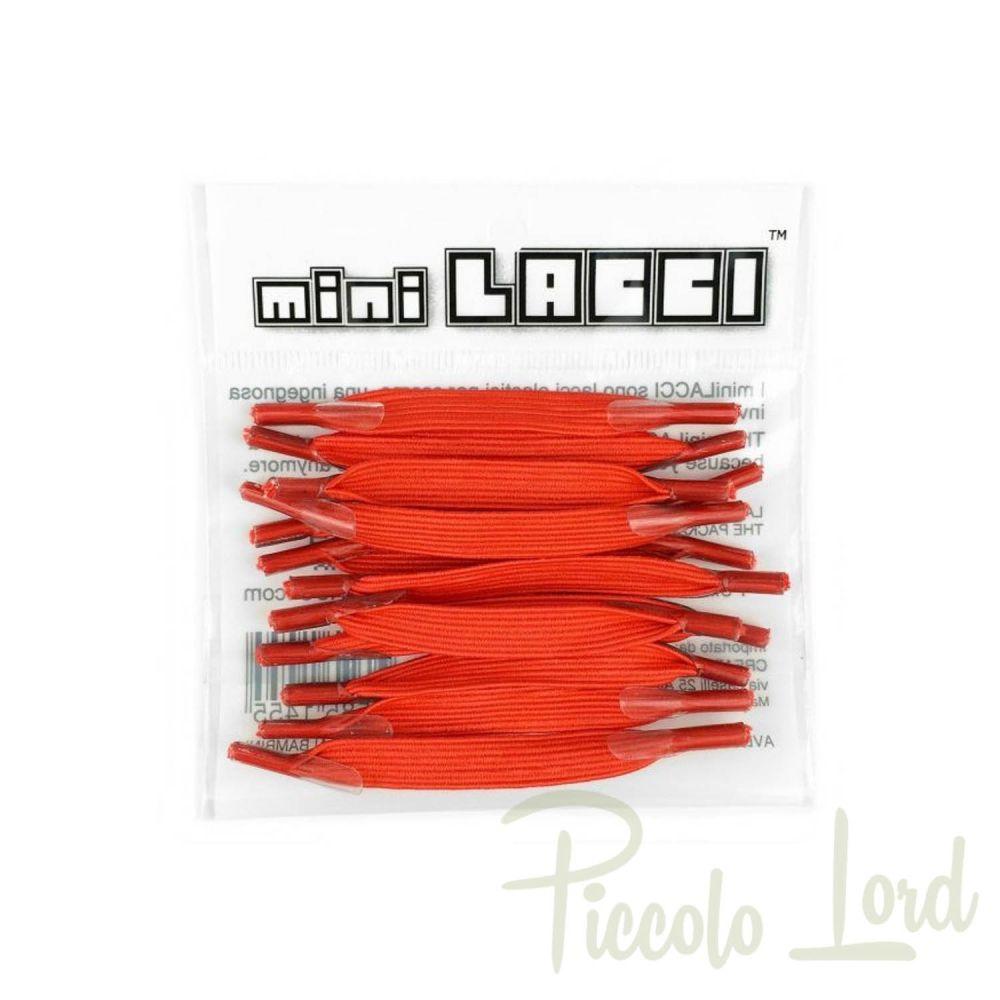 ML-06 Mini Lacci Rosso Accessori per completare l'outfit