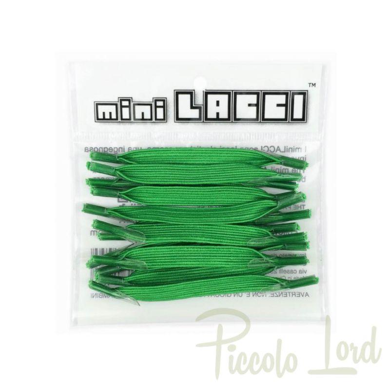 ML-02 Mini Lacci Verde Accessori per completare l'outfit