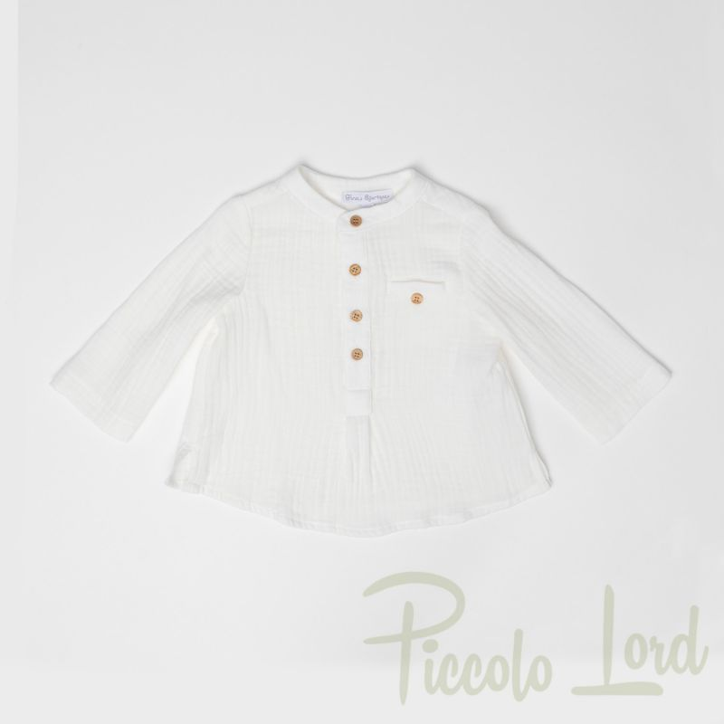 P20B3630 Camicia Fina Ejerique Abbigliamento Primavera Estate 2020 Piccolo Lord