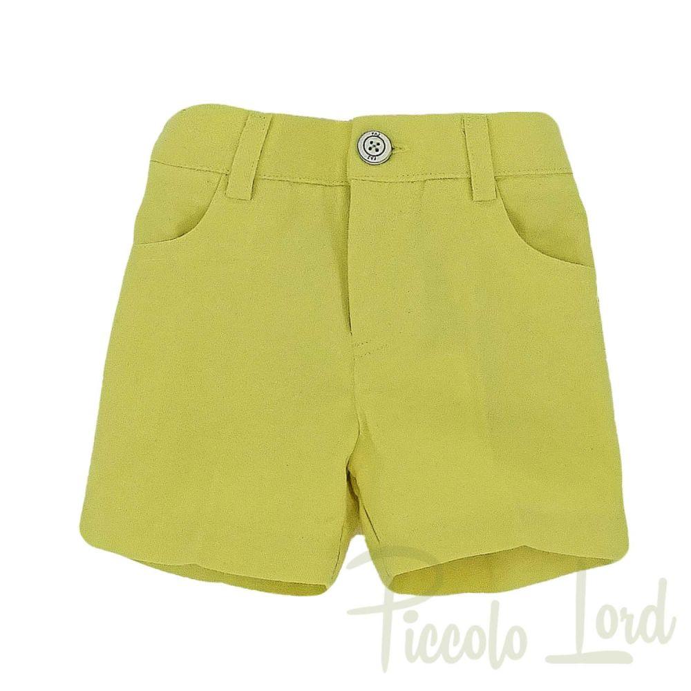 Short Paz Rodriguez Green-Yellow Abbigliamento Primavera Estate 2020 007-25294