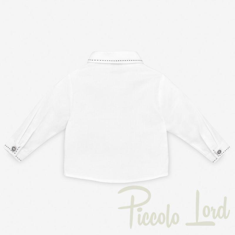 SHIRT Paz Rodriguez Cobalto Abbigliamento Neonato Autunno Inverno 2020 006-35132