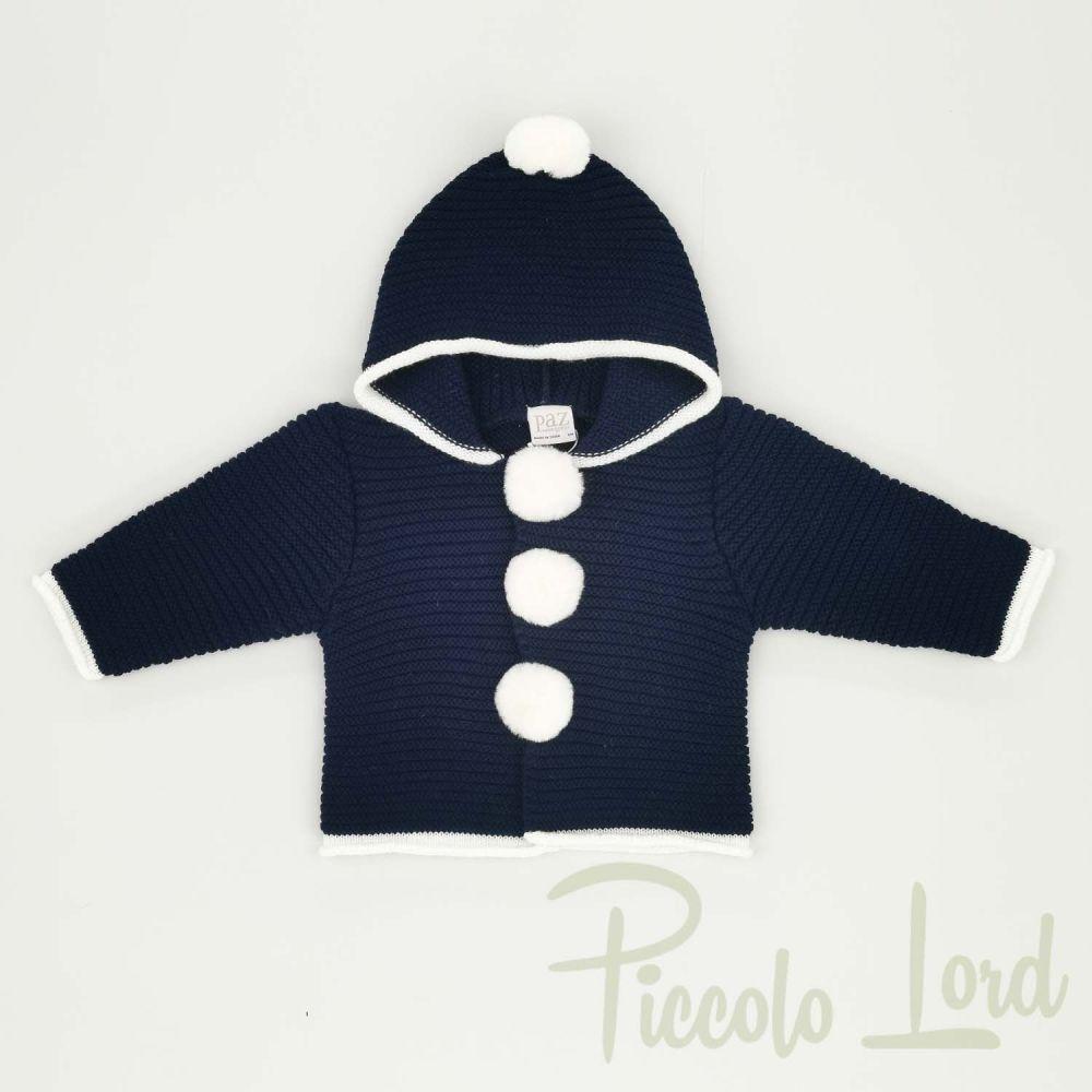 Cappotto Paz Rodriguez Abbigliamento Neonato Autunno Inverno 2020 012-21022