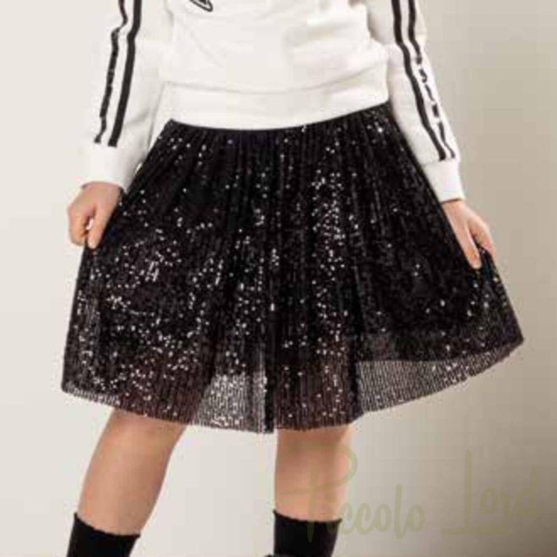 MINI Fracomina Nera Abbigliamento Bambini Autunno Inverno 2020 F520WG1004W00401-053
