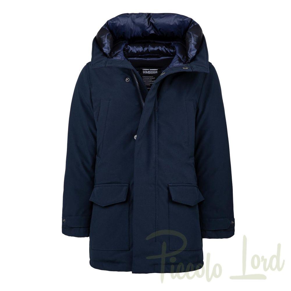 CK673DTAC5 Parka Bomboogie  Blu Abbigliamento Bambini Autunno Inverno 2020 Piccolo Lord