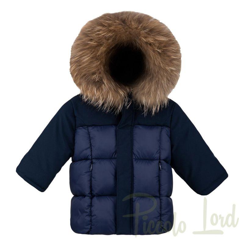 CB730VTTJAC Piumino baby Bomboogie Blu Abbigliamento Bambini Autunno Inverno 2020 Piccolo Lord Bari
