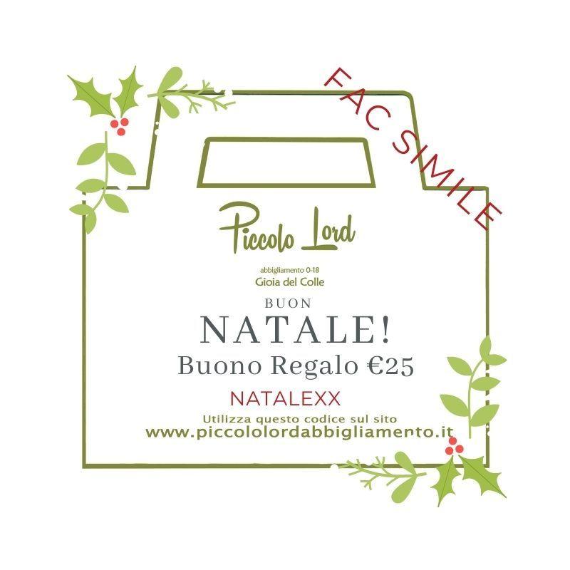 Buono Regalo €25 Buoni regalo b025