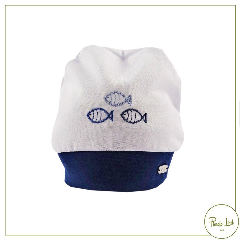 E21291#B001 Cappello Ninnaoh Bianco Abbigliamento Neonato Primavera Estate 2021 per completare l'outfit
