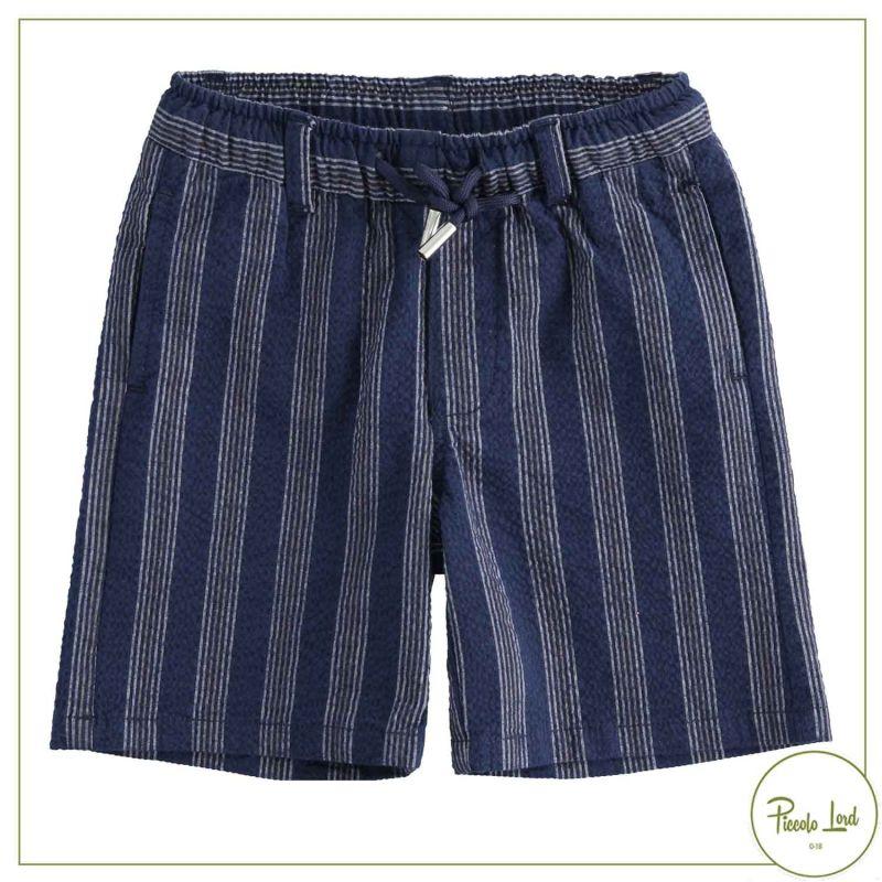42259 Pantalone iDO Navy Abbigliamento Bambini Primavera Estate 2021 Piccolo Lord