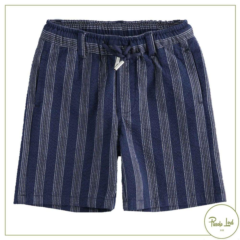 Bermuda blu iDO Abbigliamento Bambini Primavera Estate 2021 42259