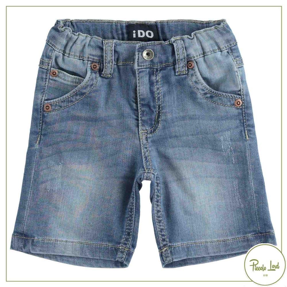 Pantalone iDO Stone Washed Chiaro Abbigliamento Bambini Primavera Estate 2021 42697