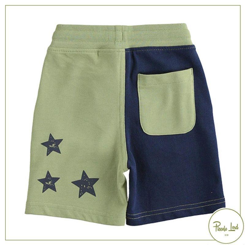 42700 Pantalone iDO Verde Salvia Abbigliamento Bambini Primavera Estate 2021 Piccolo Lord