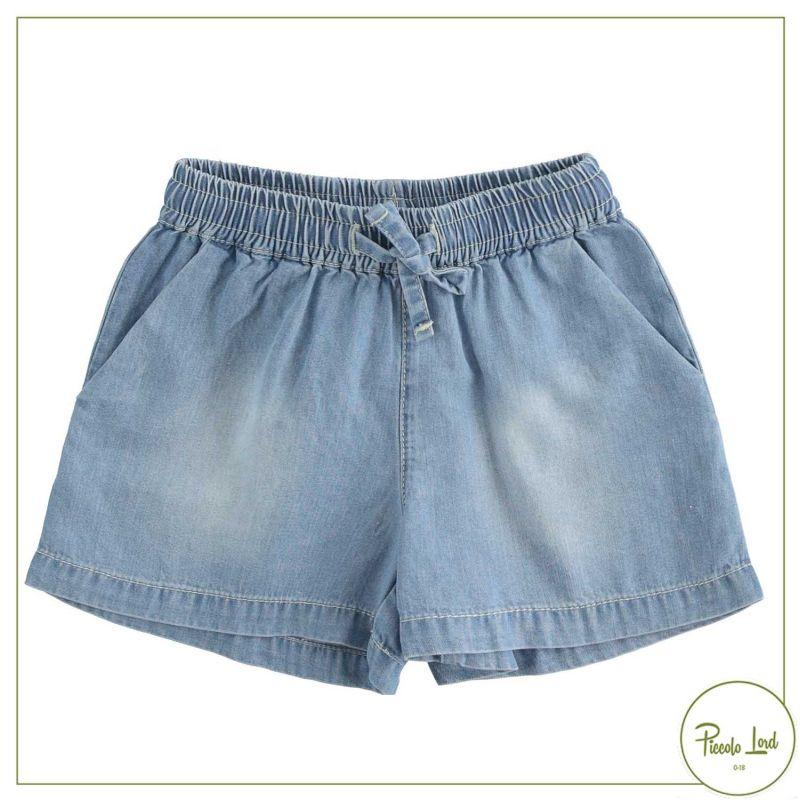 Short iDO Stone Bleach Abbigliamento Bambini Primavera Estate 2021 42754
