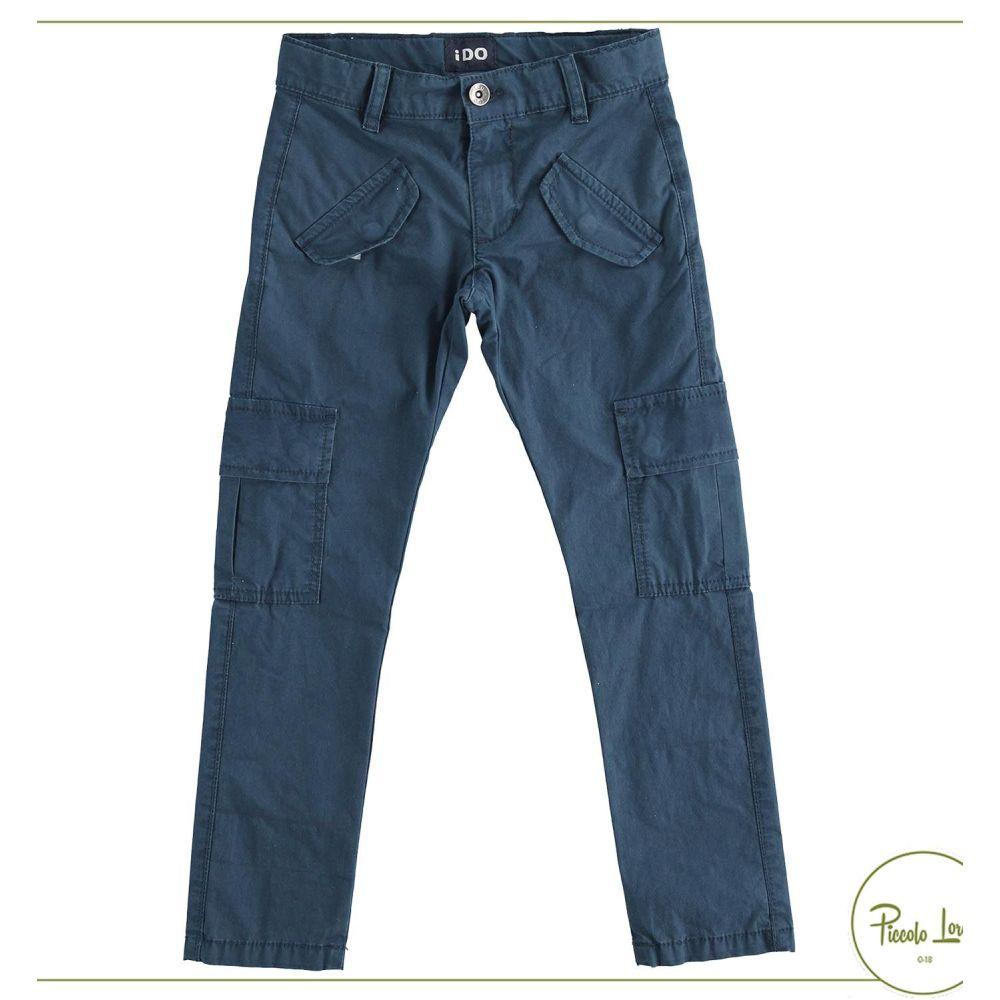 Pantalone iDO Navy Abbigliamento Bambini Primavera Estate 2021 42413