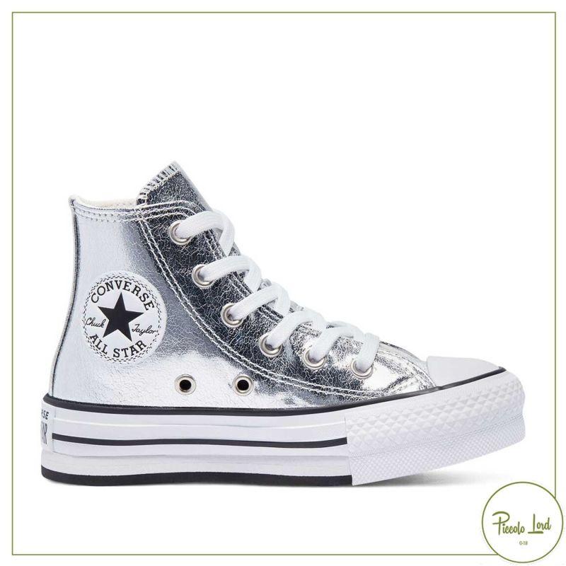 670547C Sneakers Converse Silver PE21 Calzature Bambini Primavera Estate 2021 Piccolo Lord