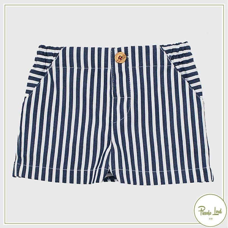 Short Blu Fina Ejerique Abbigliamento Bambini Primavera Estate 2021 P21B47
