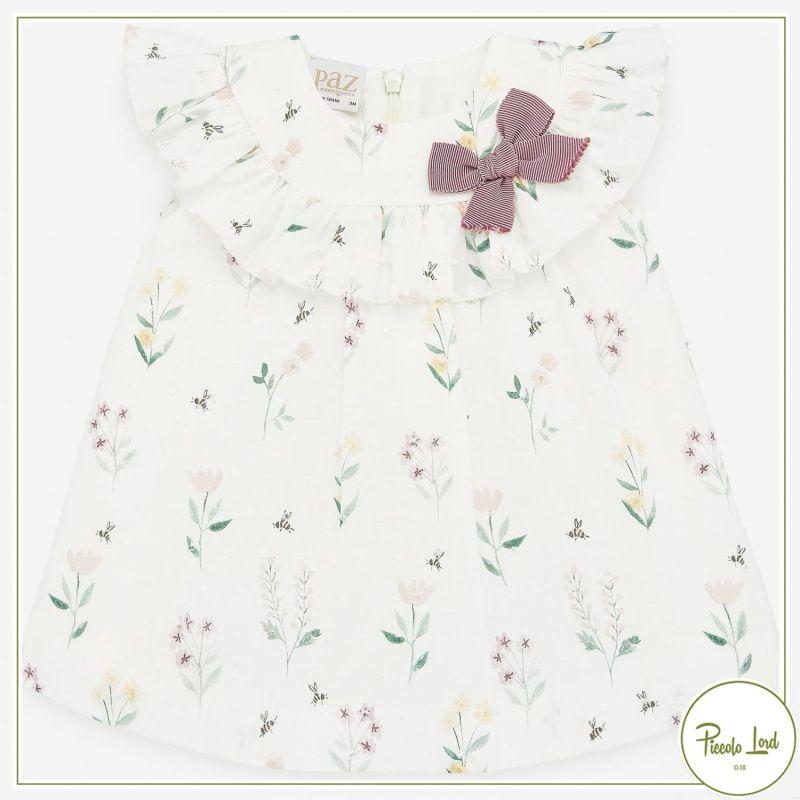 Dress Paz Rodriguez Green Lake Abbigliamento Neonato Primavera Estate 2021 004-35539