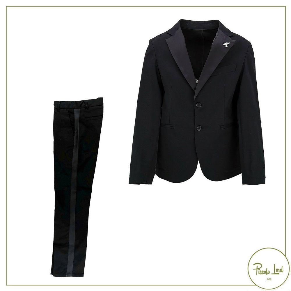 Completo SP1 Nero Abbigliamento Bambini Primavera Estate 2021 B3600127