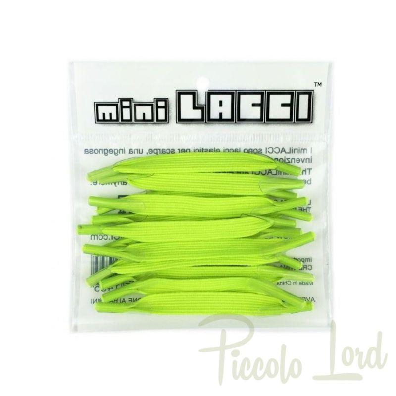 ML-09 Mini Lacci Giallo Fluo Calzature Primavera Estate 2020 per completare l'outfit