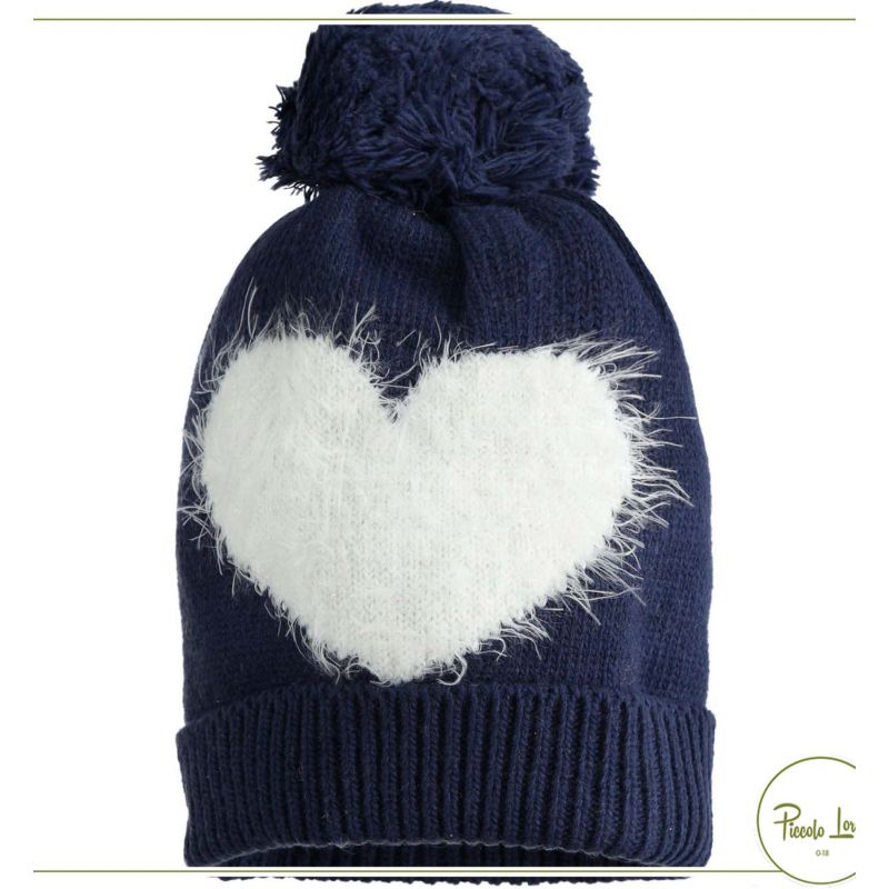 41048 Cappello IDO Blu Navy Abbigliamento Bambini Autunno Inverno 2020 per completare l'outfit