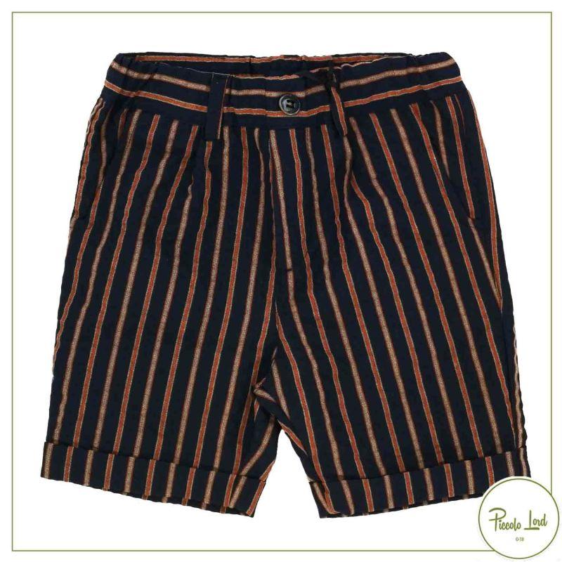 Pantalone Alessandrini Blue Orange Abbigliamento Bambini Primavera Estate 2021 1236P0949