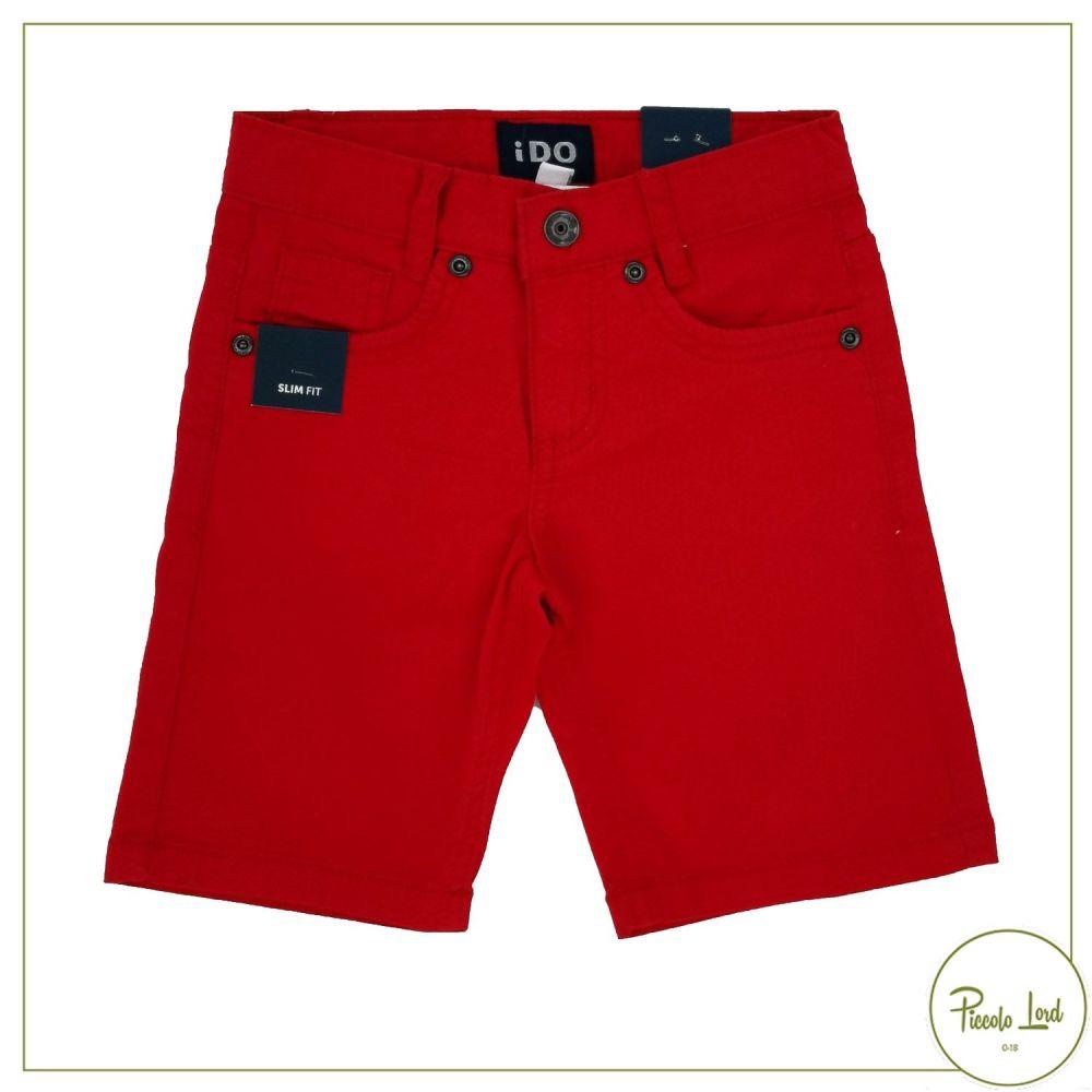 Pantalone iDO Rosso Abbigliamento Bambini Primavera Estate 2021 42701