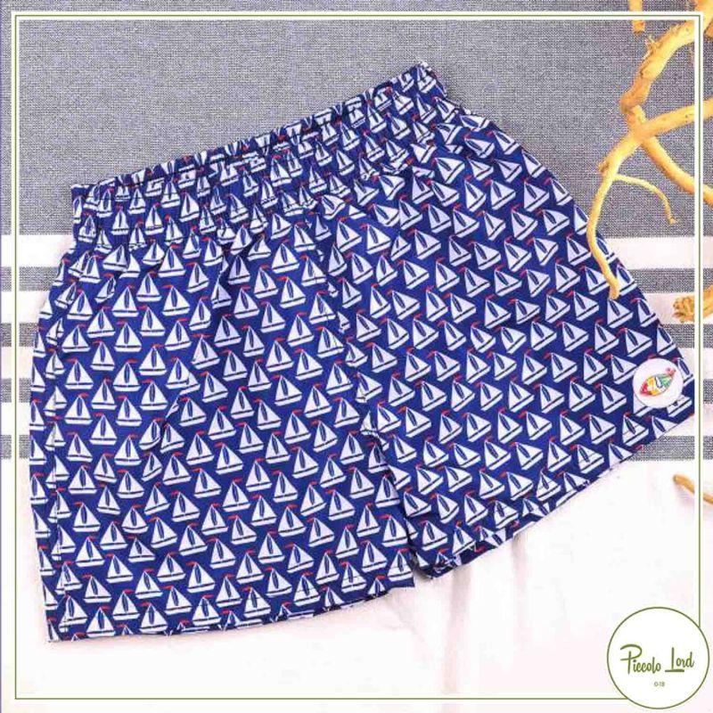SEA01/21 Boxer Azuè Blu Abbigliamento Bambini Primavera Estate 2021 per completare l'outfit