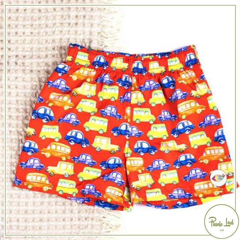 AUT01/21 Boxer Azuè Cars Abbigliamento Bambini Primavera Estate 2021 per completare l'outfit