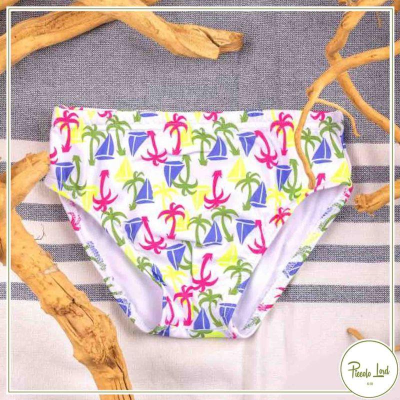 ILD03/21 Slip Azuè Palme Abbigliamento Bambini Primavera Estate 2021 per completare l'outfit