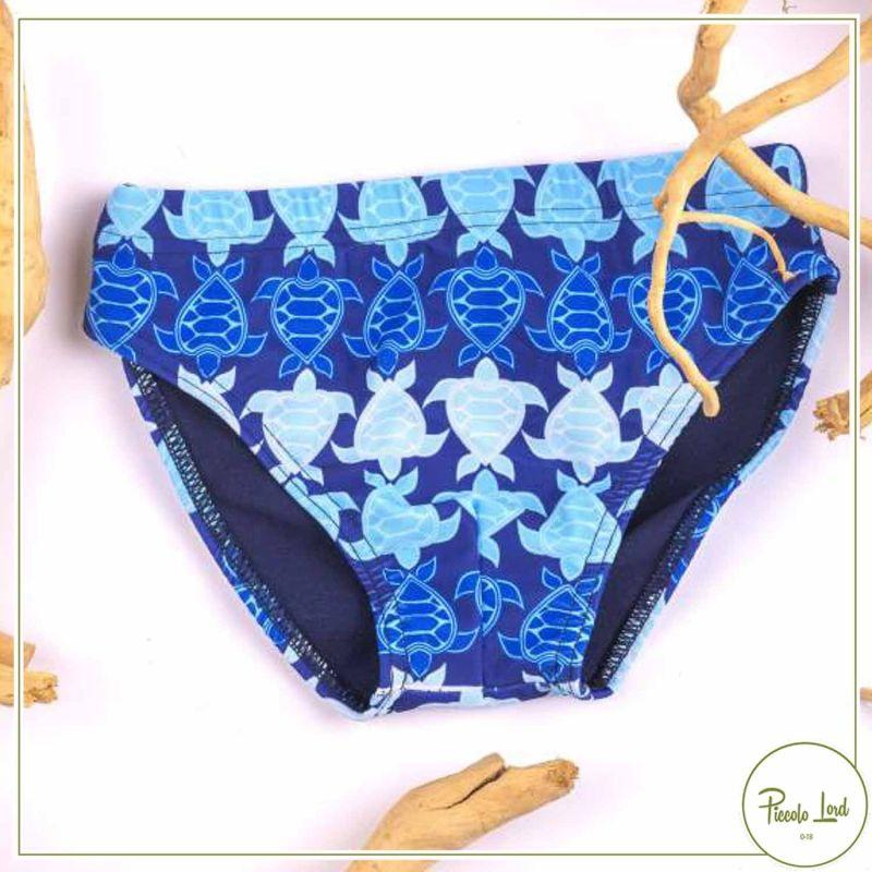 TR03/21 Slip Azuè Tartarughe Abbigliamento Bambini Primavera Estate 2021 per completare l'outfit