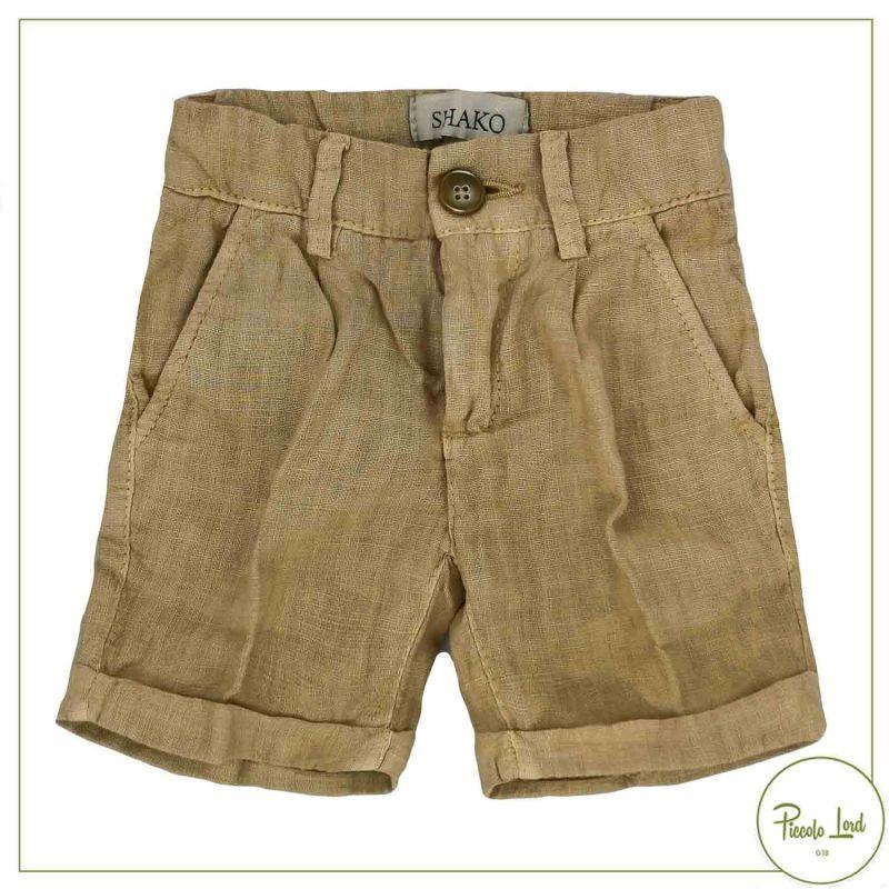 Bermuda Shakò Sabbia Abbigliamento Bambini Primavera Estate 2021 BSK0354N