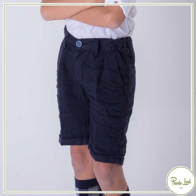 Bermuda Shakò Blu Abbigliamento Bambini Primavera Estate 2021 BSK0354J-bl