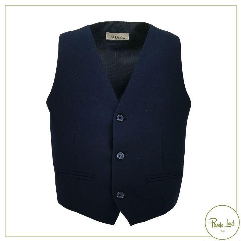 Gilet Shakò Blu Abbigliamento Primavera Estate 2020 SSK0295J