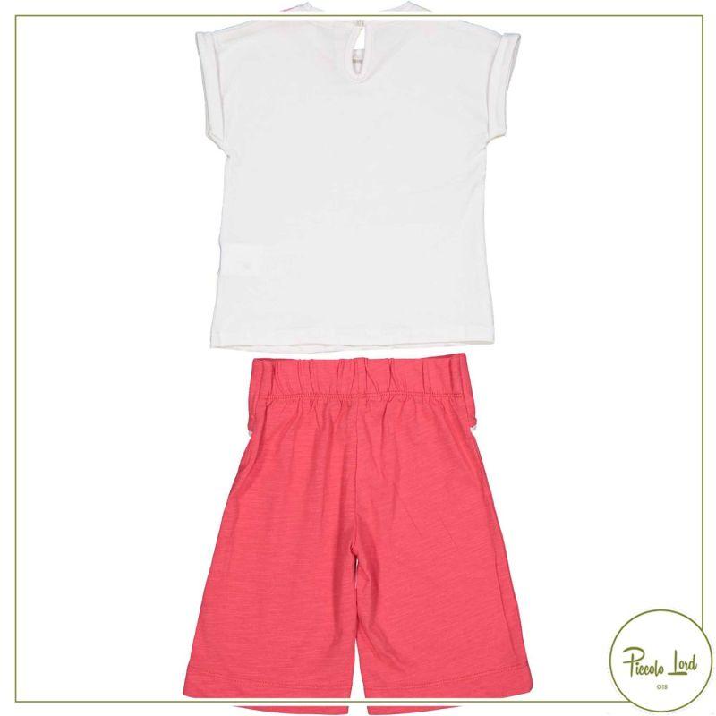 Completo Birba Bianco Abbigliamento Bambini Primavera Estate 2021 29045
