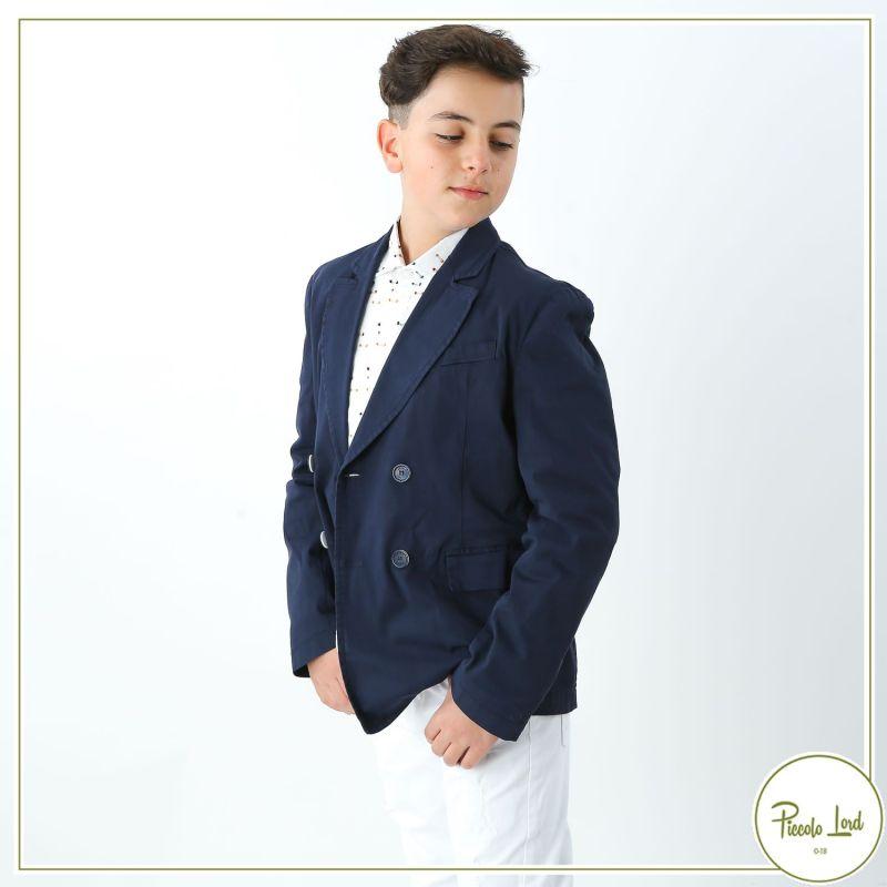 Giacca  Shakò Blu Abbigliamento Bambini Primavera Estate 2021 GSK0352J