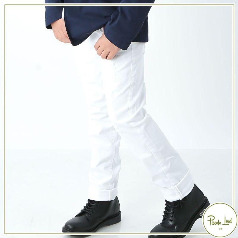 Pantalone Shakò Bianco Abbigliamento Bambini Primavera Estate 2021 PSK0348J
