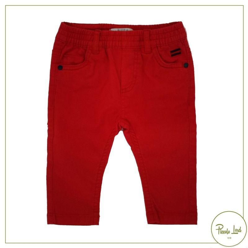 Pantalone Birba Rosso Abbigliamento Bambini Primavera Estate 2021 22015
