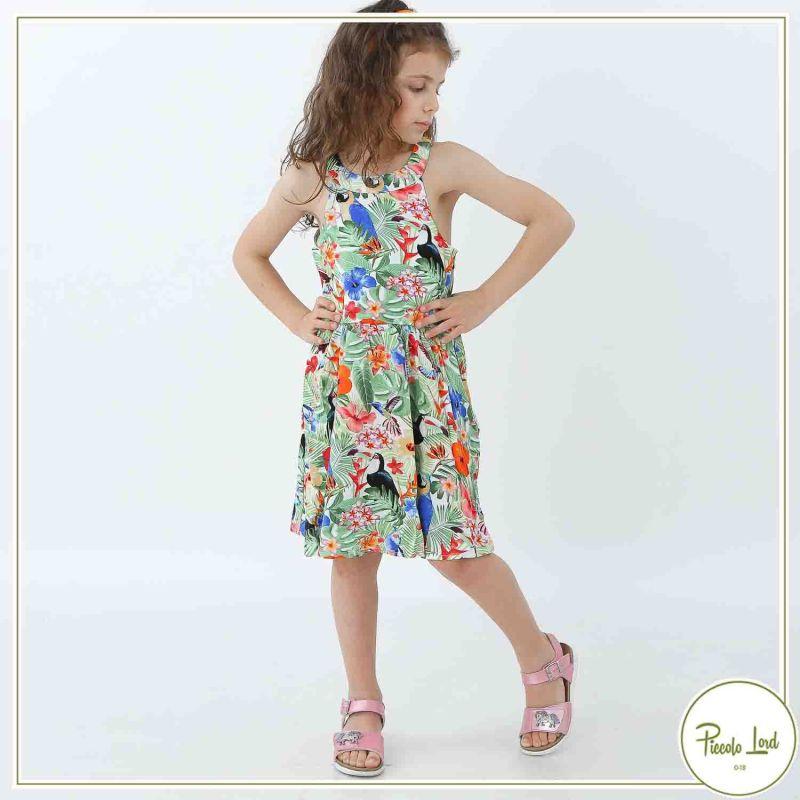 Abito Birba Fantasia Abbigliamento Bambini Primavera Estate 2021 25583