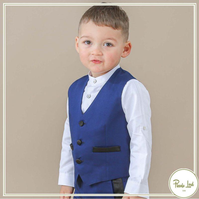 Gilet Alessandrini Bluette Abbigliamento Bambini Primavera Estate 2021 1295B0577
