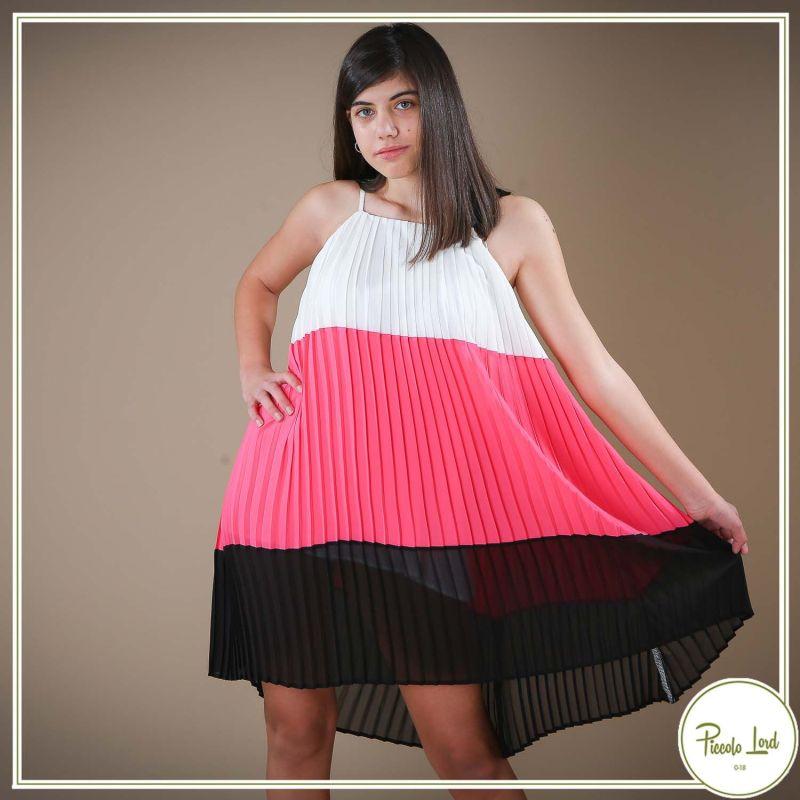 Abito Fracomina Multicolor Abbigliamento Bambini Primavera Estate 2021 F621SD3005W441F9-I41
