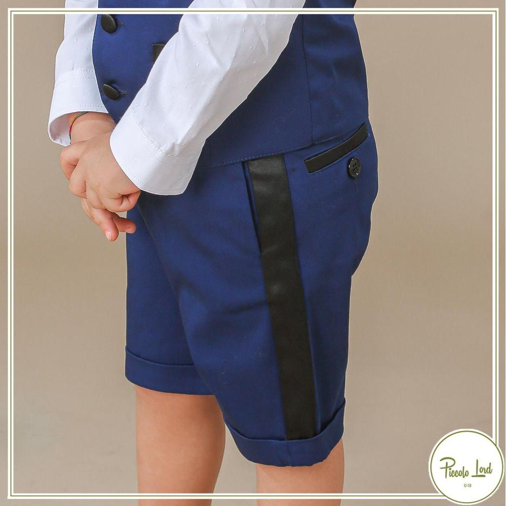 Pantalone Alessandrini Bluette Abbigliamento Bambini Primavera Estate 2021 1296P0576