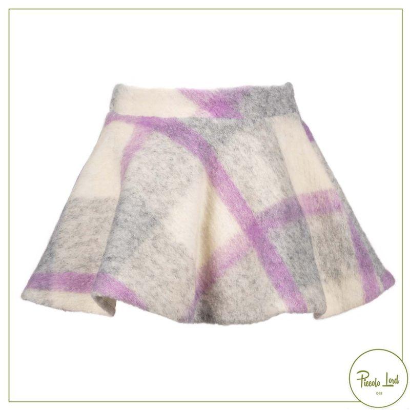 Gonna Elsy Lilla Abbigliamento Bambini Autunno Inverno 2021 7007-AI21