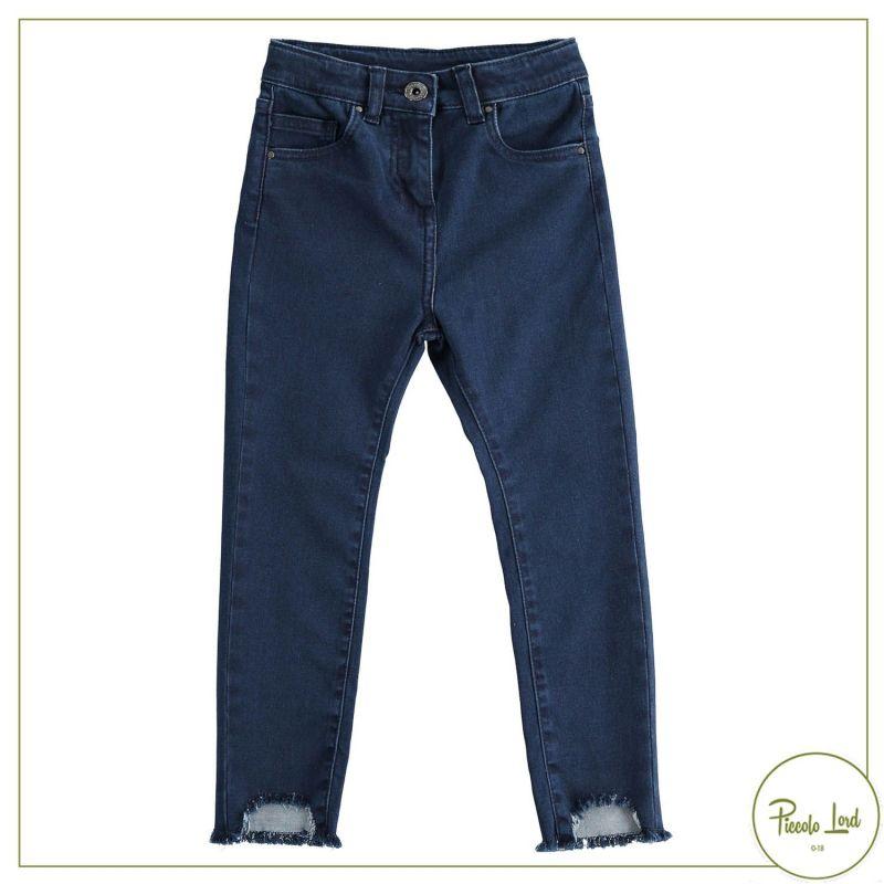 Pantalone iDO Blu Abbigliamento Bambini Autunno Inverno 2021 43951